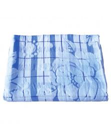 Frottee-Decke, blau
