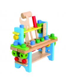 Werkzeugkasten für Kinder aus Holz