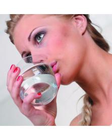 Женское кольцо керамика с бриллантом
