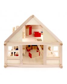 Spielzeug Holzhaus