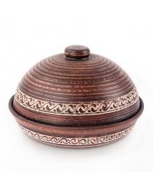 Tonbehälter für Pfannkuchen D 23 cm