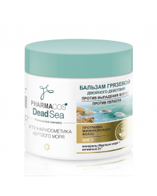 Schlammbalsam gegen Haarausfall und Schuppen Pharmacos Dead Sea