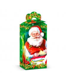 Neujahrsgeschenkverpackung Weihnachtsmann mit Brief