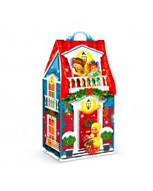 Neujahrsgeschenkverpackung Weihnachtshaus