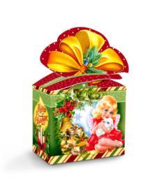 Neujahrsgeschenkverpackung Merry Christmas