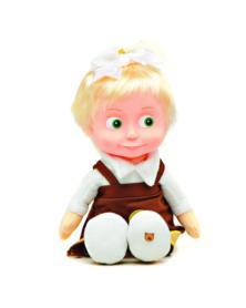 Puppe Mascha - Das Schulmädchen