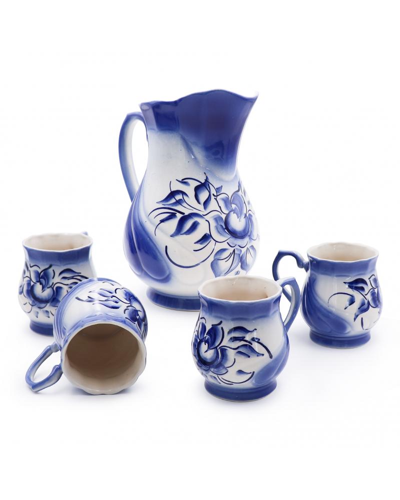 Набор кувшин+4 чашки