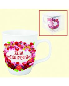 "Tasse ""Zum Geburtstag"", 0,4 l"