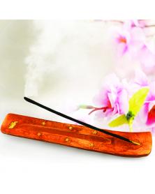 Aromastäbchenhalter aus Holz