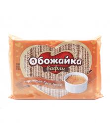 "Waffeln ""Obozhajka"" mit Creme-Brûlée-Geschmack"