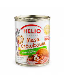 Gezuckertes Kondensmilch mit Nussgeschmack 400g