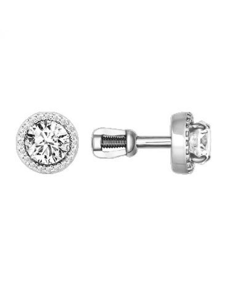 Чокер на цепочке с кристаллами Swarovski и родиевым покрытием, LC