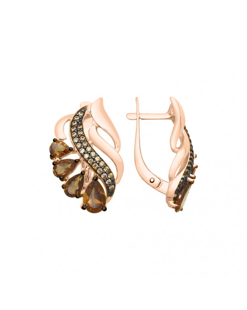 Кулон на цепочке с кристаллами Swarovski и родиевым покрытием, LC