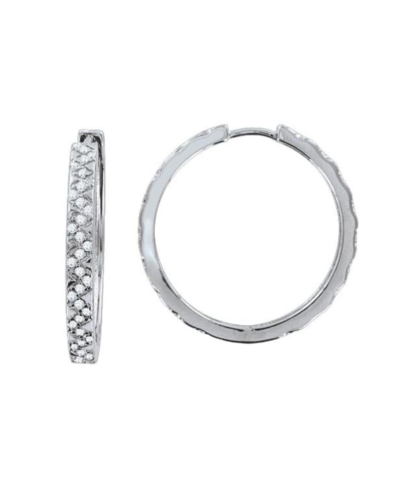 Серьги с кристаллами Swarovski, позолота 18К LC