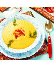 Ofen für einen tatarischen Kasan mit einem Rohr