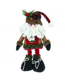 """Weihnachtsfigur """"Langbein-Santa"""" 40cm"""