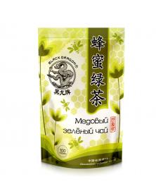 Grüner Tee mit Honig