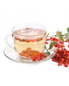Aurica Weissdornblätter mit Blüten Tee