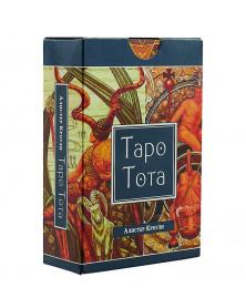 Таро Тота(брошюра + 78 карт в подарочной коробке)