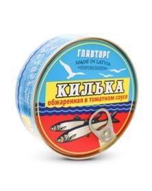 Baltische Sprotten gebraten in Tomatensauce  240g