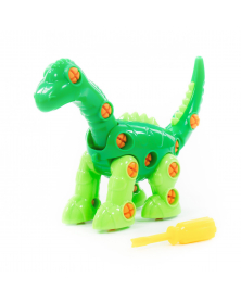 """Spielzeug """"Diplodocus""""  zum zusammenbauen"""