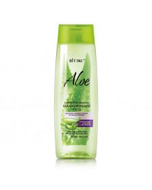 Balance-Shampoo für fettige Kopfhaut und trockene Spitzen