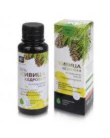 Zedernharz mit Zedernöl und Birngrün 100ml