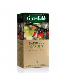 """Schwarzer Tee mit Berberitze """"Greenfield"""""""