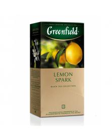 """Schwarzer Tee mit Zitronengeschmack """"Greenfield"""""""