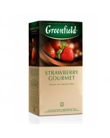 """Schwarzer Tee mit Erdbeere """"Greenfield"""""""