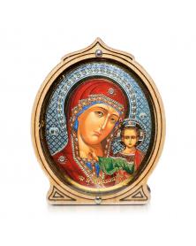 Ikone für das Auto Kazanskaja, 6,5х5,5 cm