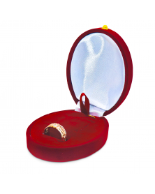 Schmuck-Geschenkbox / Oval